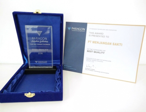 MENJANGAN SAKTI AS THE BEST SUPPLIER – PT PARAGON TECHNOLOGY & INNOVATION