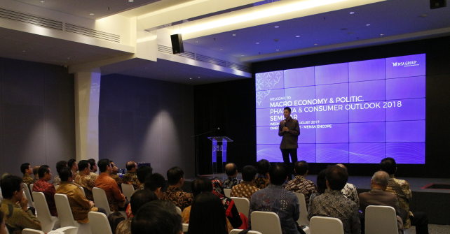 Pembukaan Seminar Macro Economy & Politics, Pharma & Consumer Outlook 2018